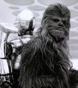chewbacca and threepio star wars the empire strikes back